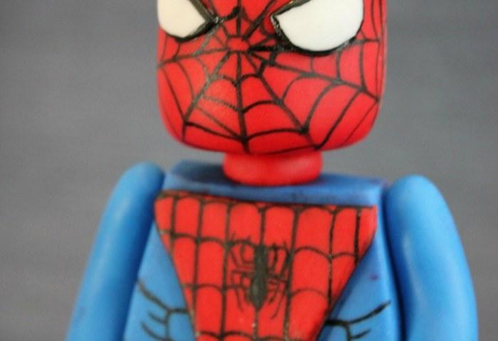 Lego Spiderman Fondant Cake Topper Superhero Cake Decorati Flickr