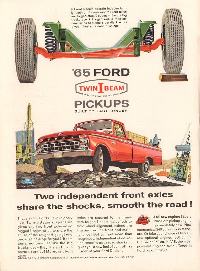 65 Ford Pickup : pickup, Pickup, Truck, Advertisement, Newsweek, Flickr