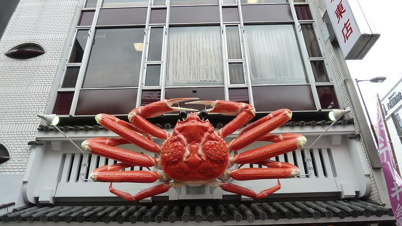 Kani Doraku crab signage, Doutonbori
