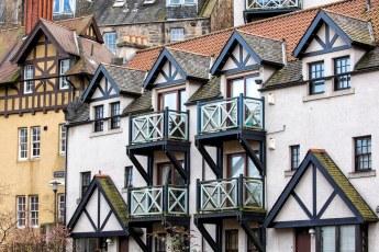 Dean Village architecture