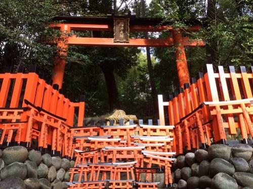 Mini torii, Fushimi Inari-taisha