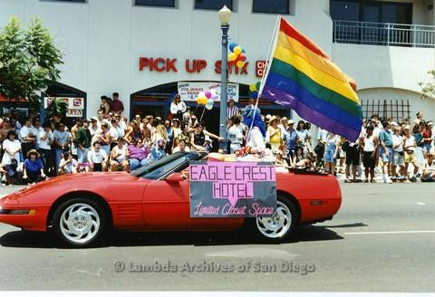 1994 - San Diego LGBT Pride Parade: Contingent - Eagle Crest Hotel