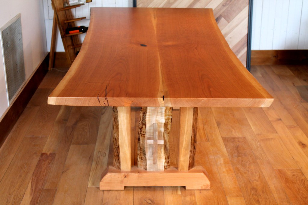 Mortise And Tenon Trestle Table
