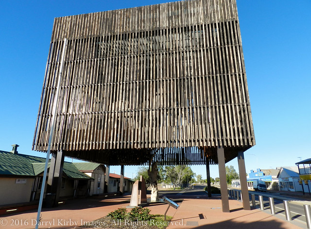 The Tree Of Knowledge Monument At Barcaldine Qld