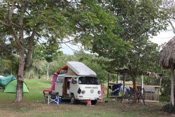 Camping in Belize