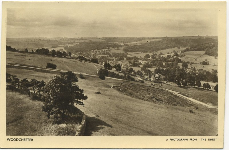 Woodchester - view from Rodborough Fort