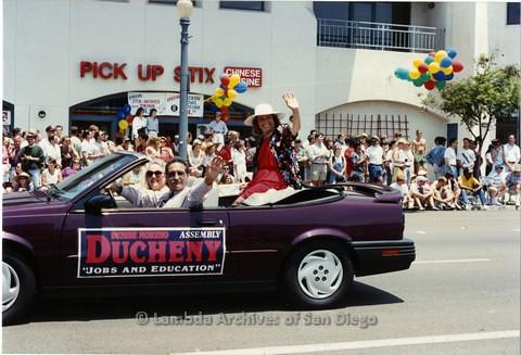 1994 - San Diego LGBT Pride Parade: Contingent - Dennis Moreno Ducheny.