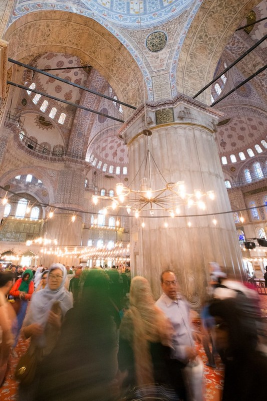 Blue Mosque melee