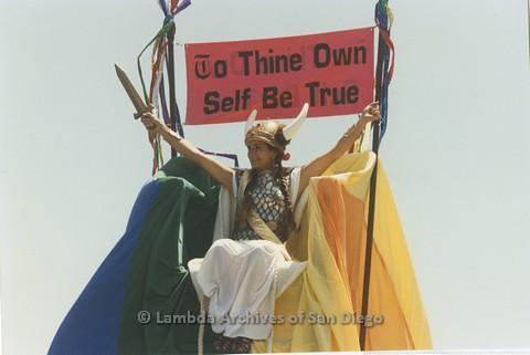 1995 - San Diego LGBT Pride Parade.