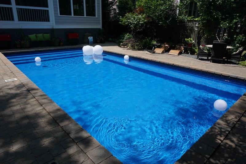 Backyard pool, midtown Atlanta