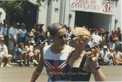 1995 - San Diego LGBT Pride Parade: - Ralph's Hair Design Employees Contingent.