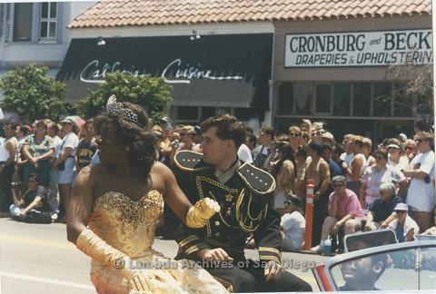 1995 - San Diego LGBT Pride Parade: - Imperial Court de San Diego.