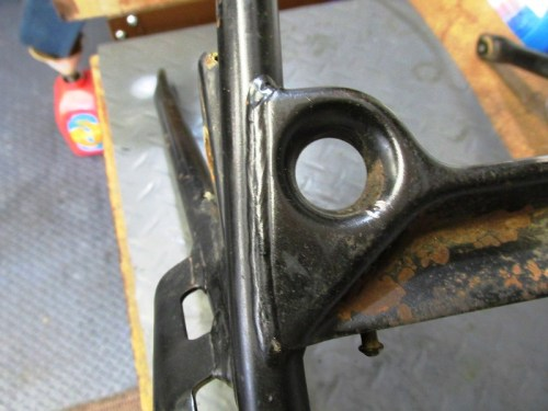 Sub-frame Cross-Brace Weld