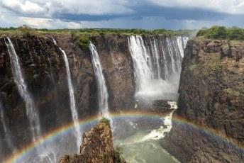 Dit deel heet 'Eastern Cataract', maar die kun je eigenlijk pas echt goed zien als je in Zambia staat.