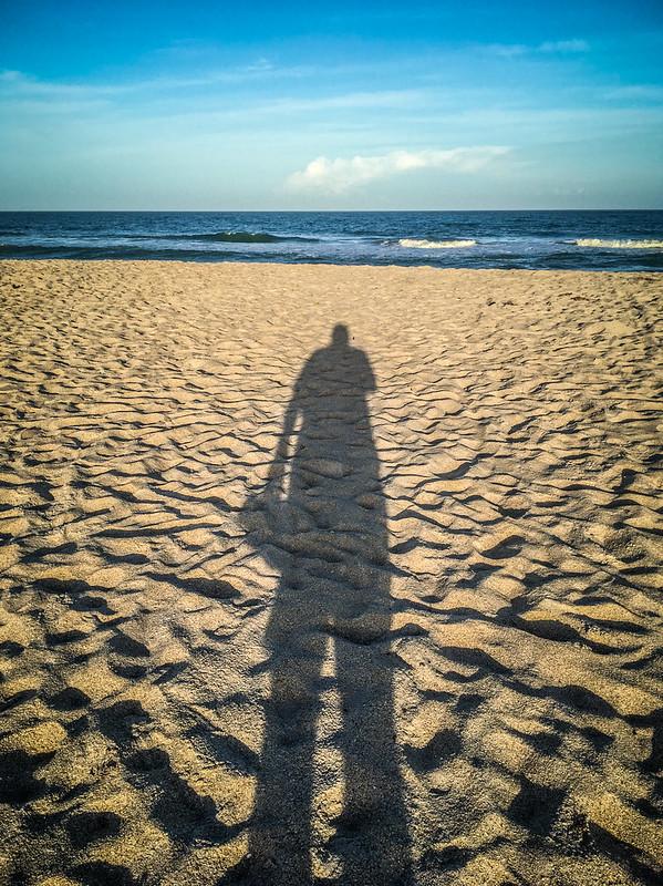 Tall Beach Shadow
