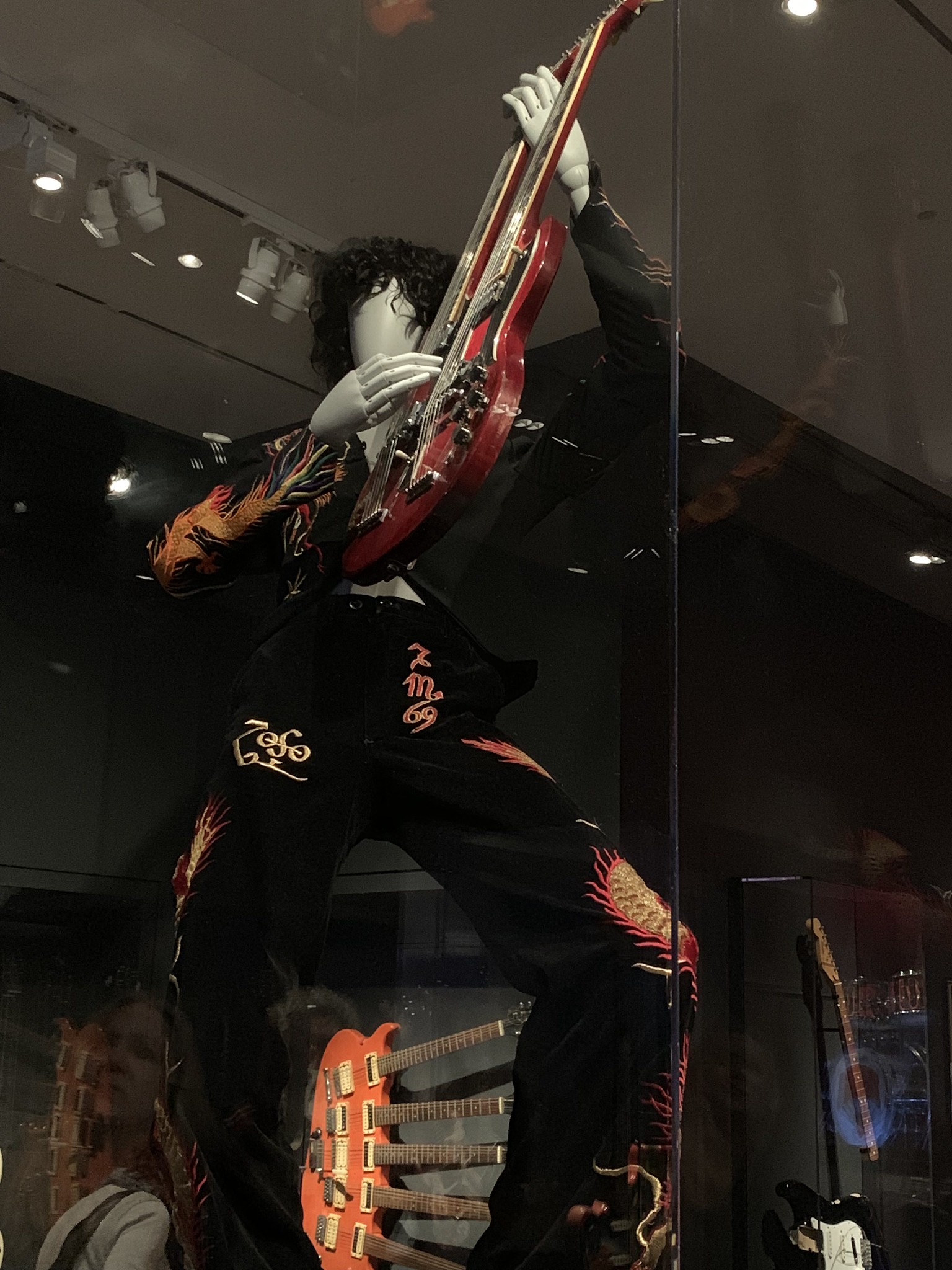 Jimmy Page Dragon Suit