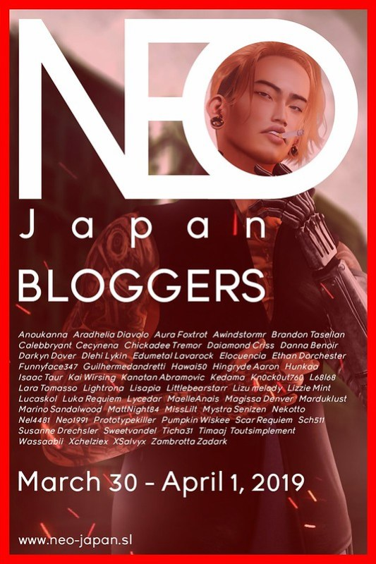 NEO JAPAN SL BLOGGERS (MARCH 2019)
