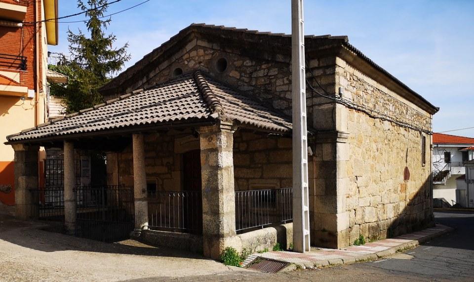 Ermita del Santo Cristo de Eljas Sierra de Gata Caceres