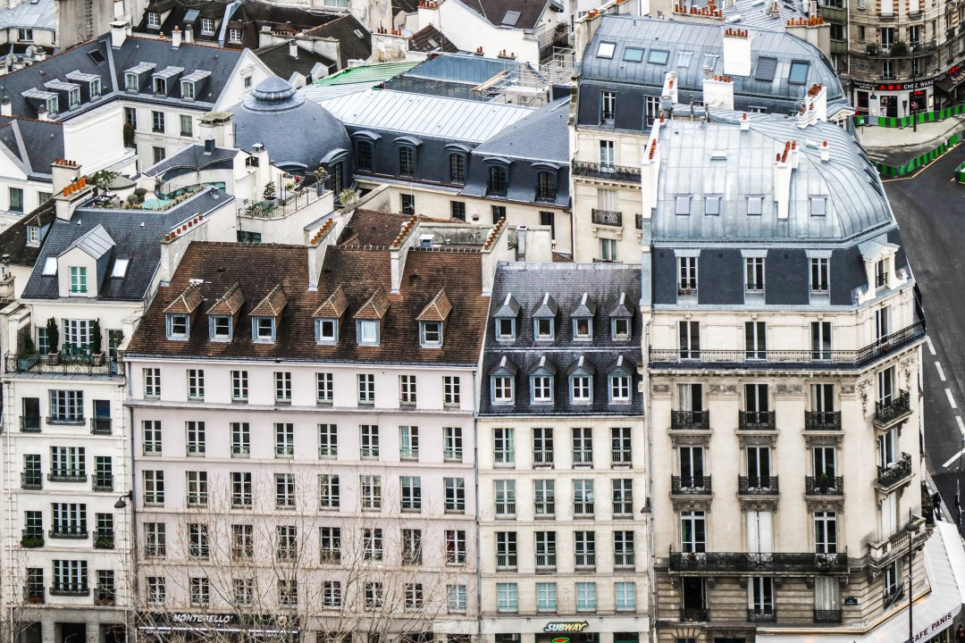 Vista di Parigi dalle torri di Notre-Dame