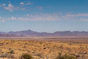Het laatste stukje tot Lüderitz.