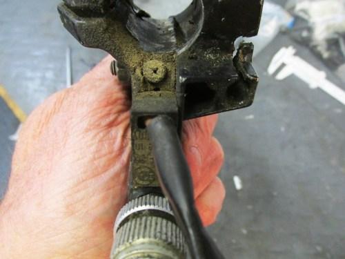 Left Handlebar Control Clutch Switch Screw