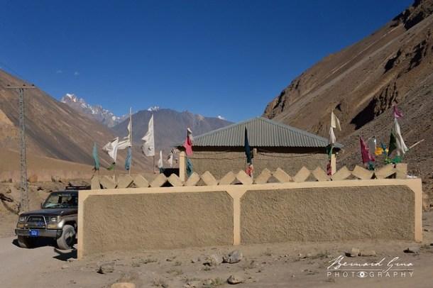 Panja Shah Ziarat, sanctuaire d'un saint soufi © Bernard Grua