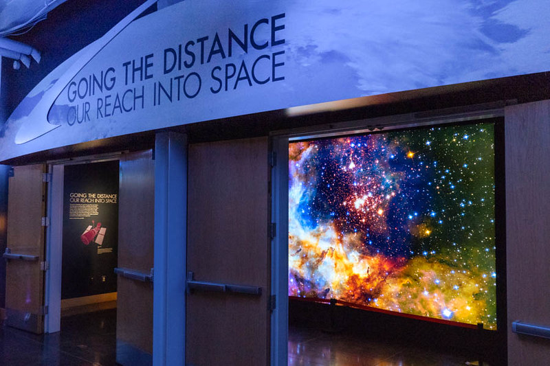 Galaxy Lightbox for Science Exhibit