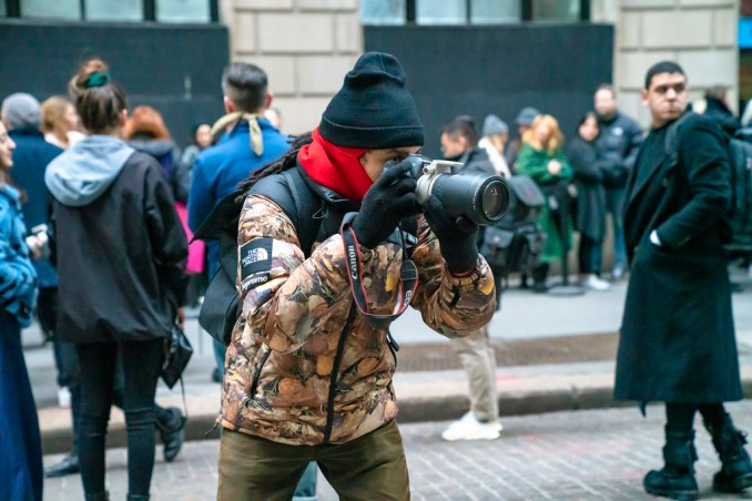 Street Style Photographer at NYFW