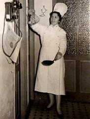 03, Emigrante en Londres, cociñeira nun hospital, anos 60.