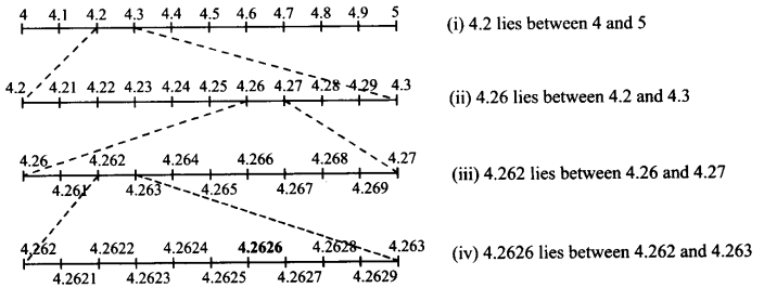 NCERT Solutions for Class 9 Maths Chapter 1 Number Systems Ex 1.4 A2