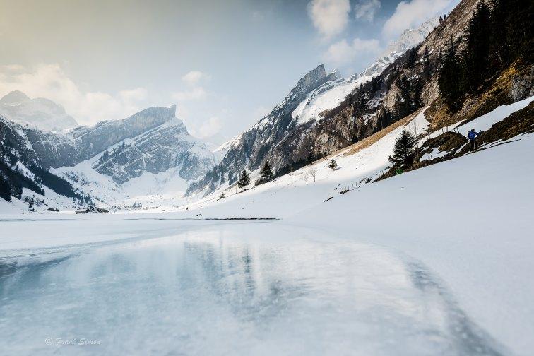 Seealpsee - Winterreflection