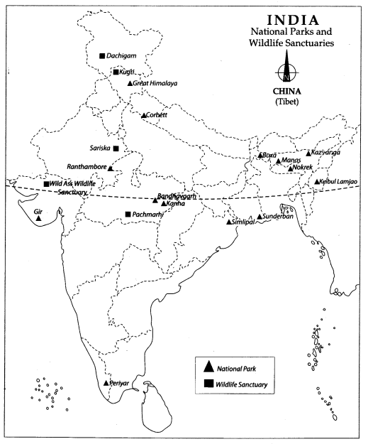 Cl 10 Geography Map Work Chapter 2 Forest and Wildlife ... Wildlife Of India Map Images on map of india islands, map of india china, map of india maps, map of india tigers, map of india architecture, map of india politics, map of india cattle, map of india rivers, map of india independence, map of india parks, map of india jungles, map of india range, map of india history, map of india africa, map of india natural resources, map of india landscape, map of india food, map of india waterways, map of india states, map of india sea,