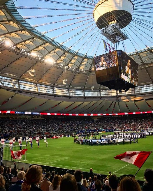 #WhitecapsWednesday looking forward to Friday #VWFC @whitecapsfc @mls @bcplacestadium #latergram