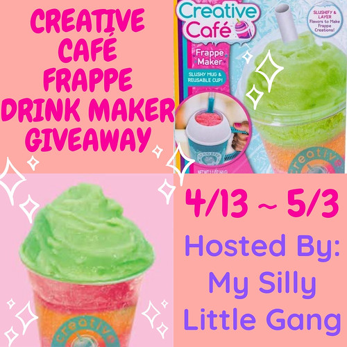 Creative Café Frappe Drink Maker Giveaway