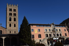 Monestir Snata Maria de Ripoll e Casa de la Vila