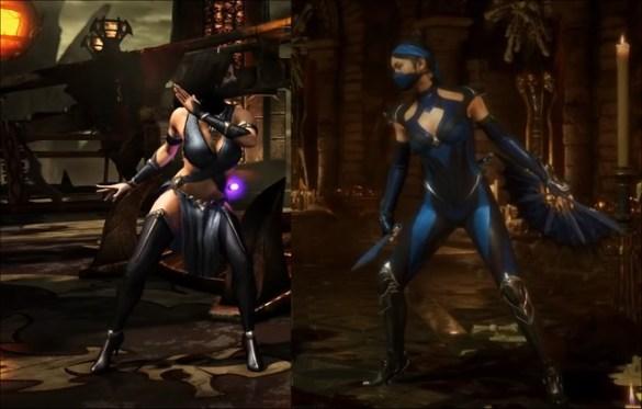 Mortal Kombat X Kitana vs Mortal Kombat 11 Kitana