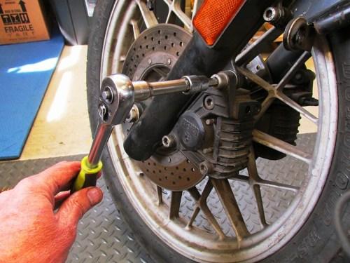 Remove Brembo Front Brake Caliper