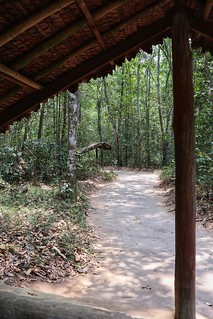 The distance he crawled, Cu Chi tunnels
