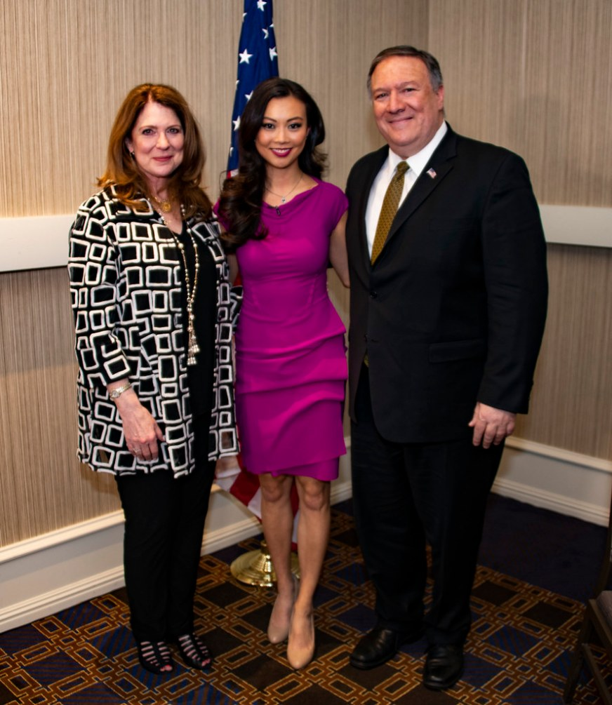 Secretary Pompeo and Mrs. Pompeo Participate in a Televisi ...