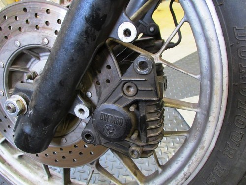 Removing Brembo Front Brake Caliper
