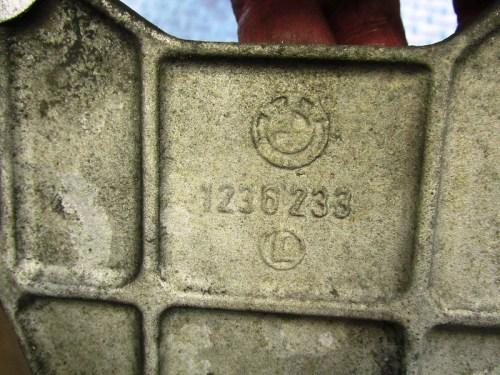 Brake Torque Arm Plate Casting Number