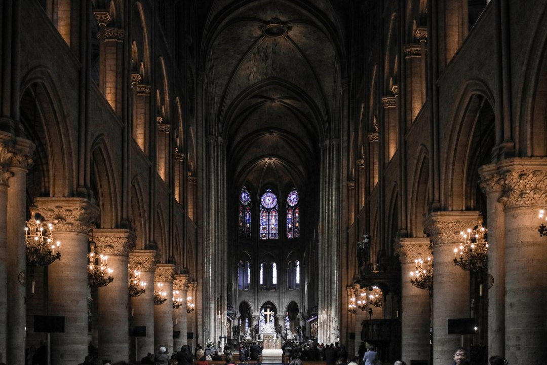 Notre-Dame Parigi, interni
