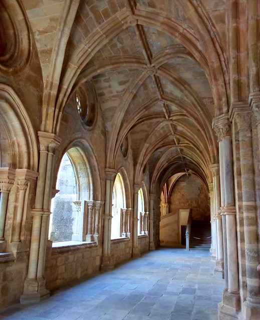 I think this is a Gothic vaulted ceiling by bryandkeith on flickr