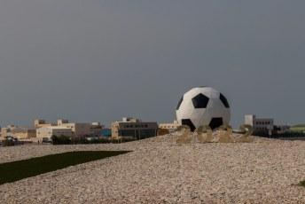 Daarna kwamen we in Al Ruwais in het uiterste noorden, ook al een speelstad.