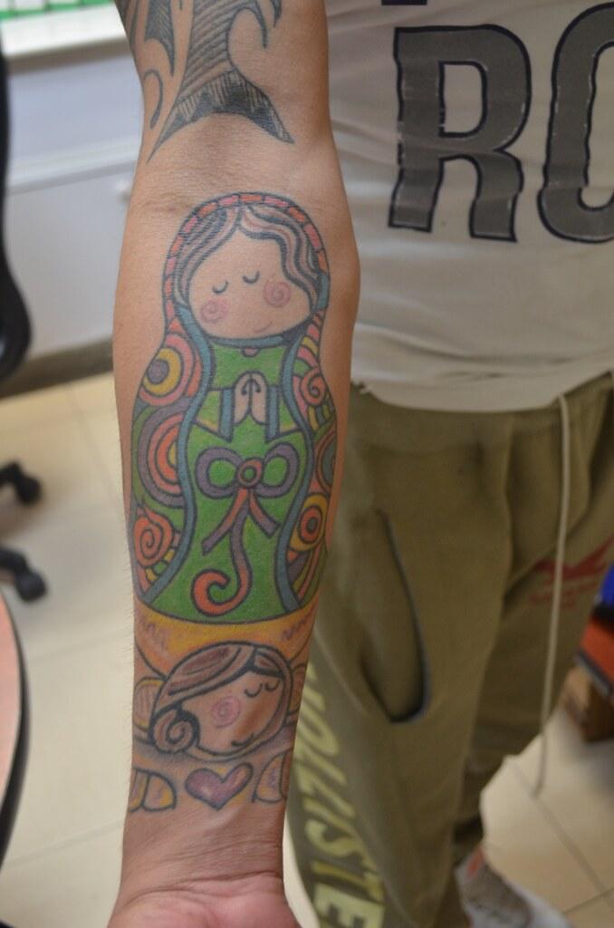 Tatuaje De La Virgen De Guadalupe Al Estilo Virgencita Pl Flickr