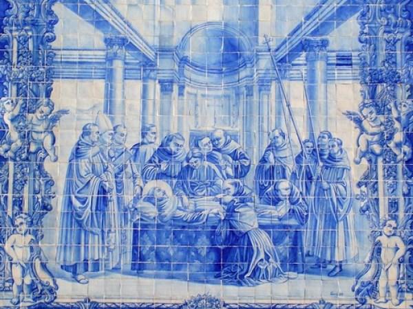 Porto das almas de santa catarina chapel azulejo