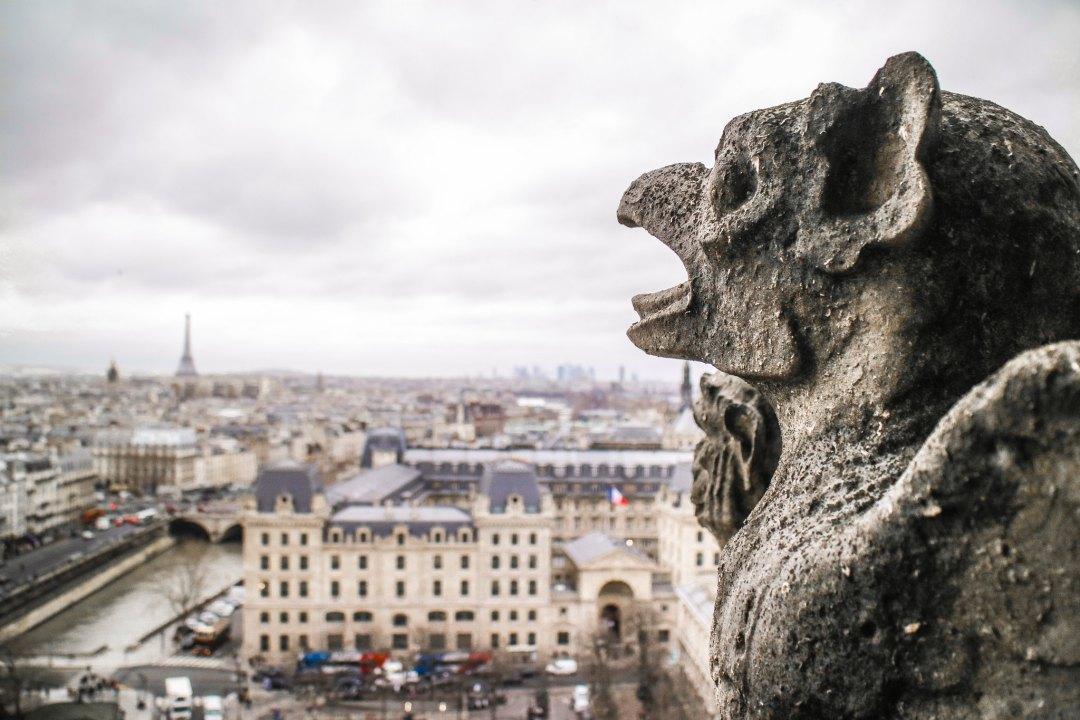 Notre-Dame de Paris, Galleria delle Chimere