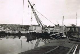 Kogerpolder - aanleg van de brug