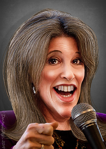 Marianne Williamson - Caricature