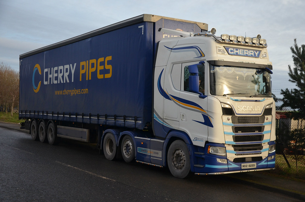 cherry pipes scania s500